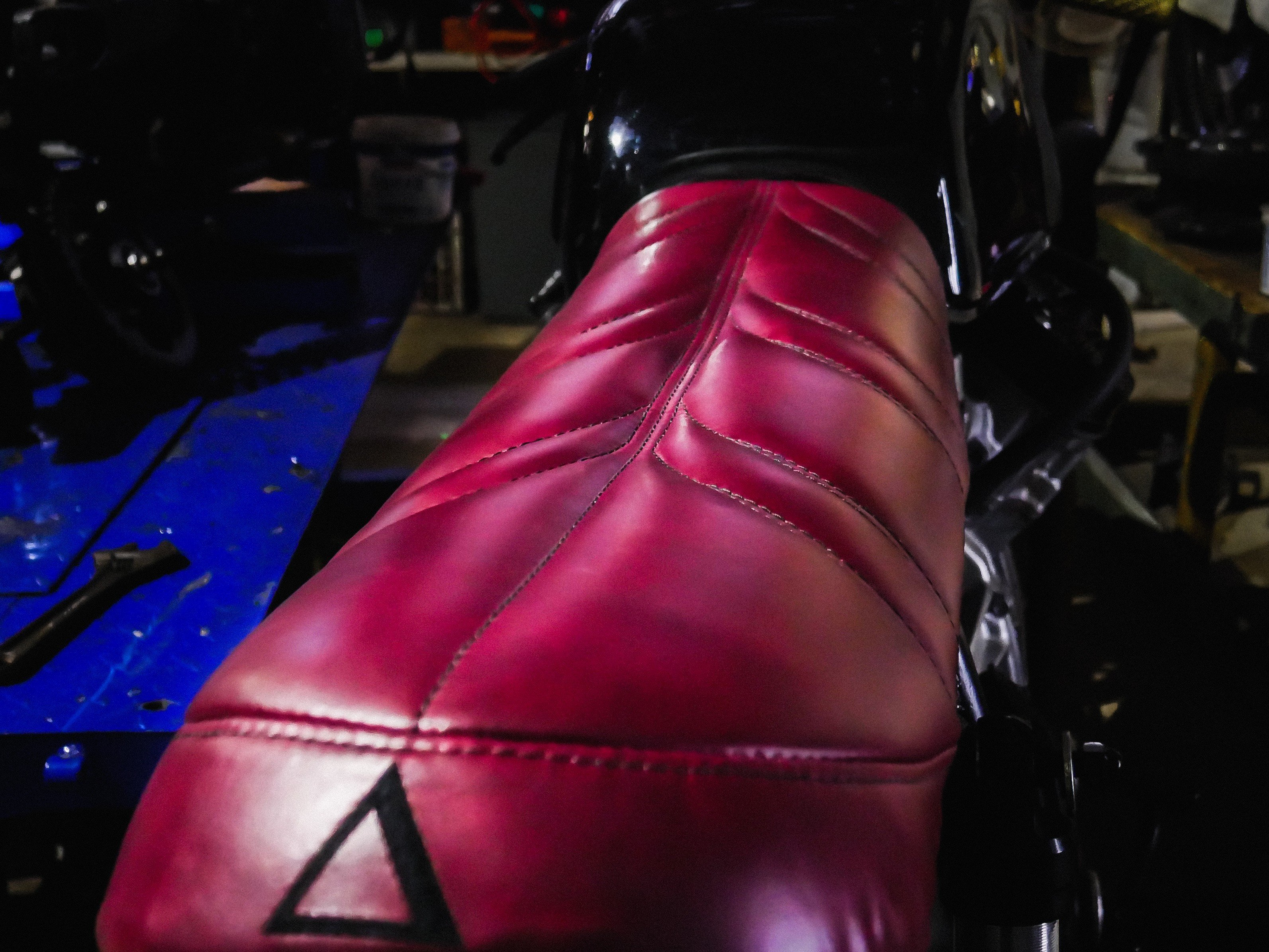 gold coast upholstery motorcycle seat