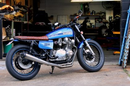 GS1000 Suzuki cafe racer custom shop