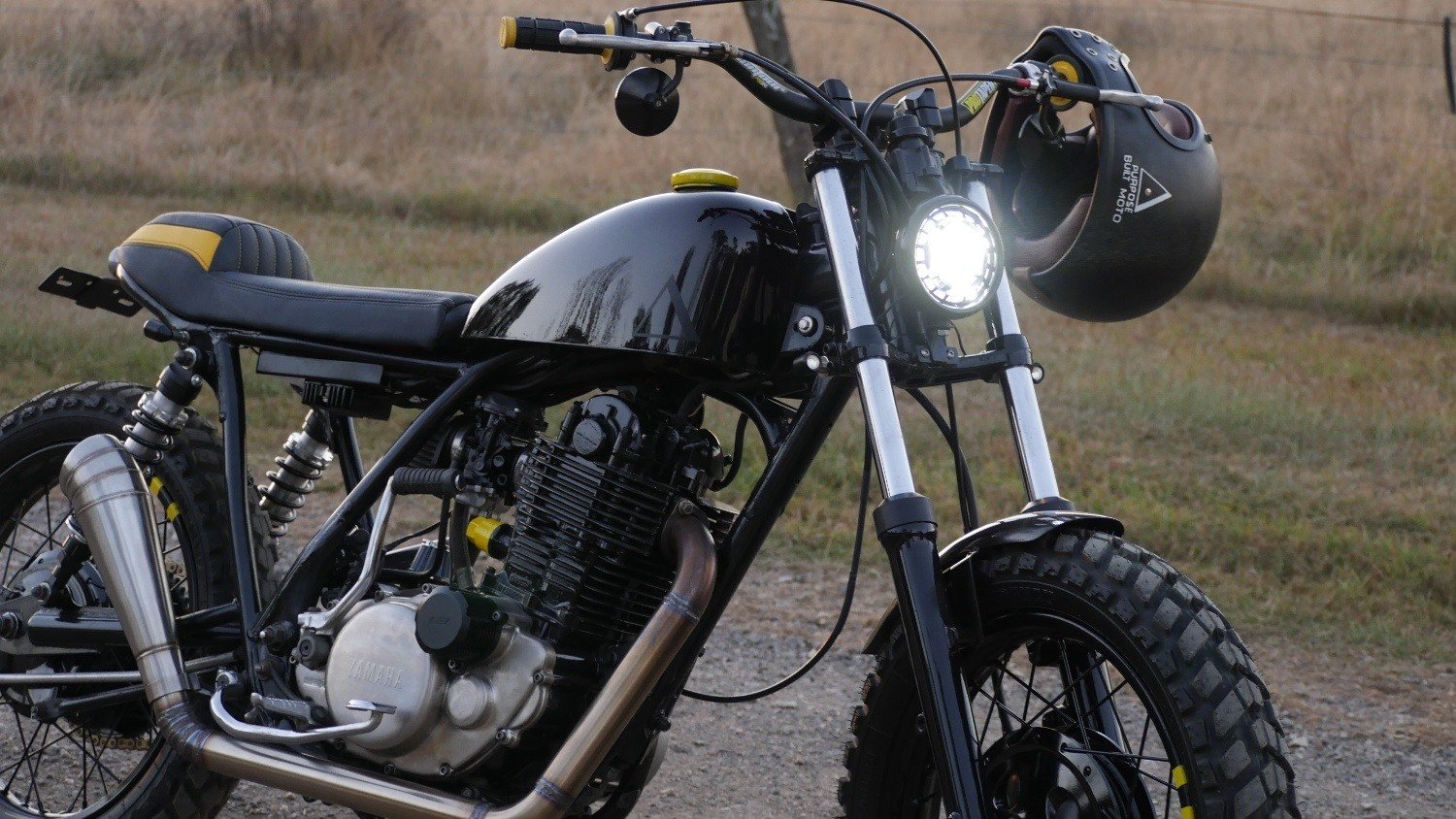 SR400 Scrambler parts LED lights Switches DNA filter