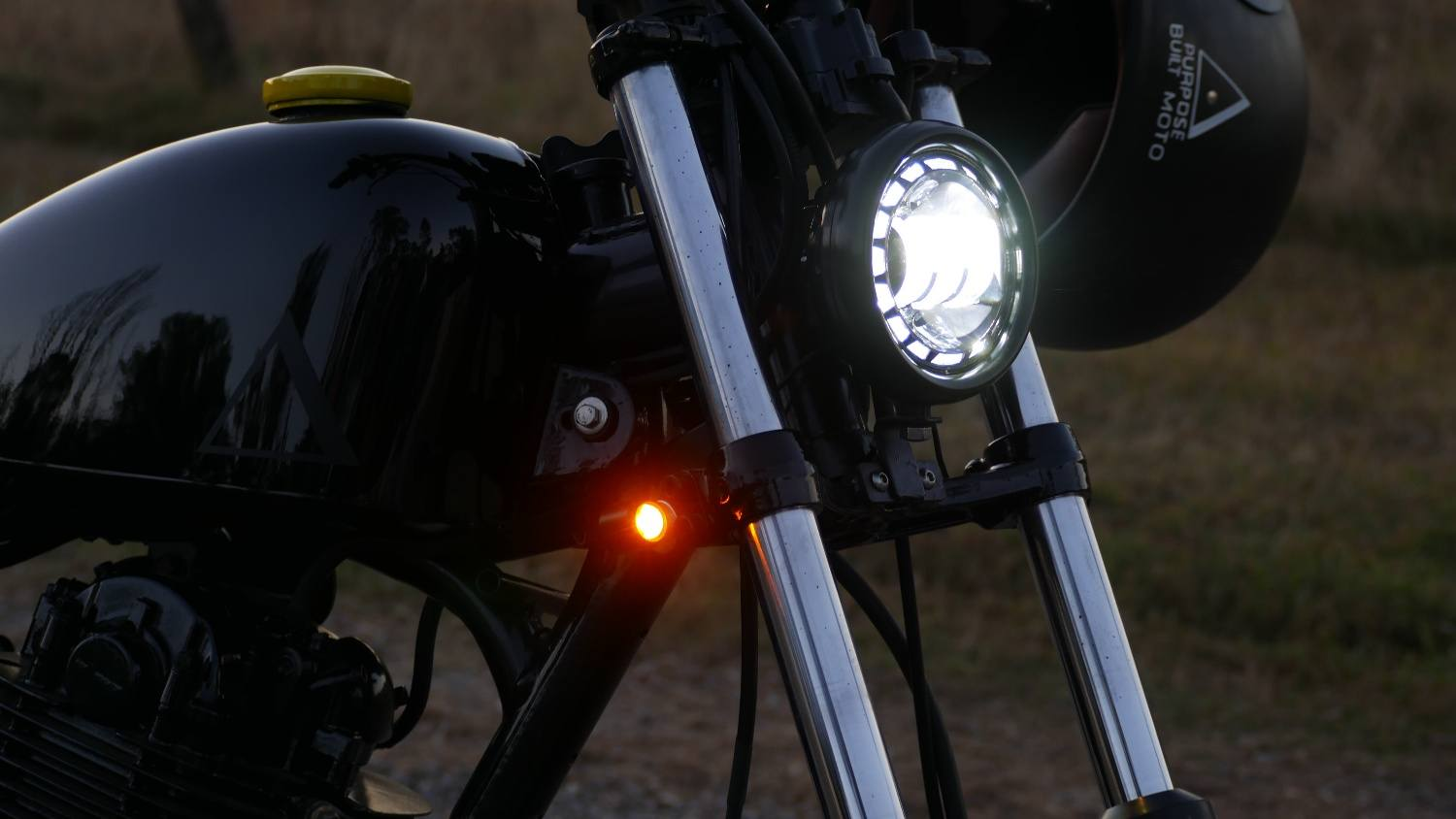 LED Headlight cafe racer 4.5 inch australia