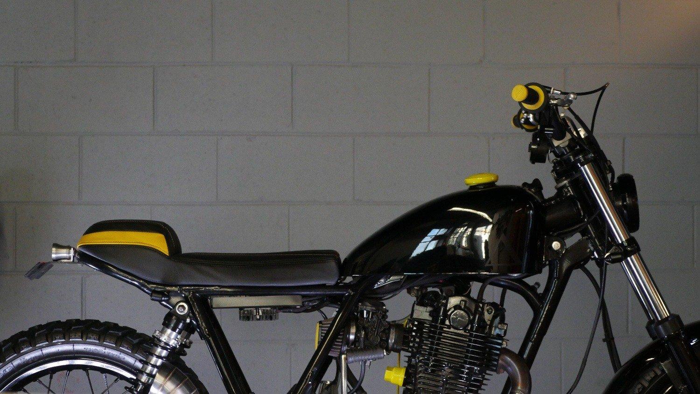 Yamaha scrambler SR400 offroad Australia Gold Coast