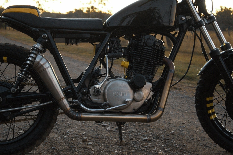 Scrambler Yamaha SR400 Gold Coast Australia