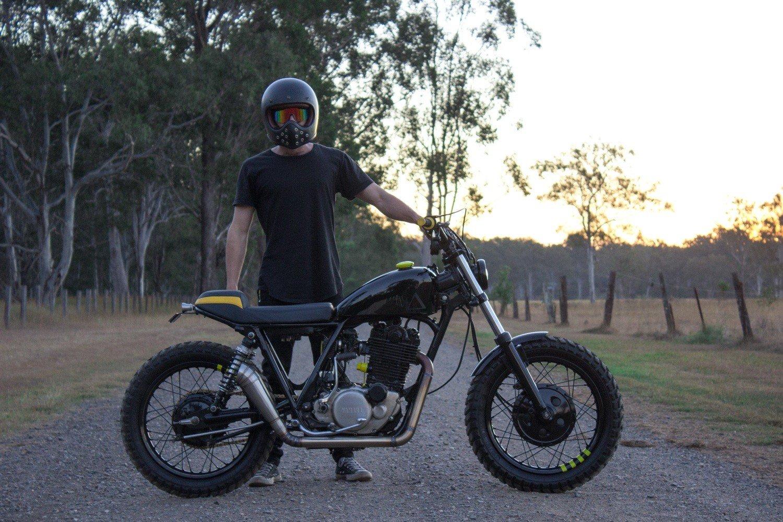 Custom SR400 australia yamaha parts