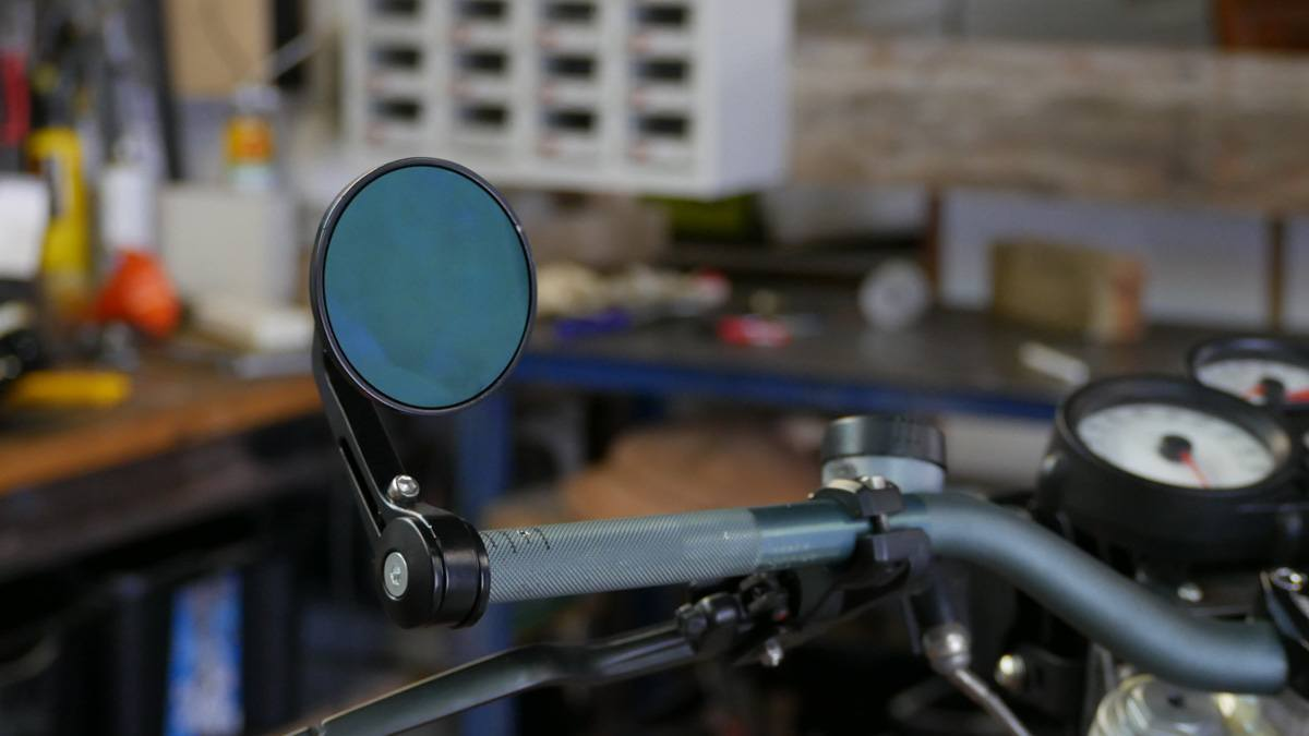 Bar end mirrors how to cafe racer gold coast