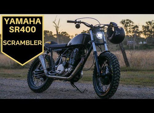 Yamaha SR400 Build