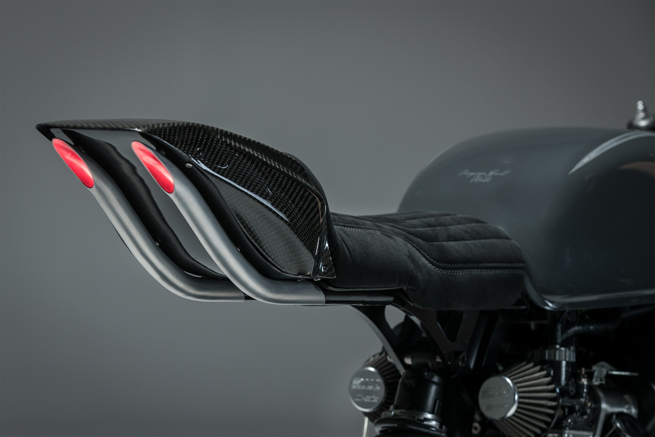 CX500 cafe racer custom LED lights australia