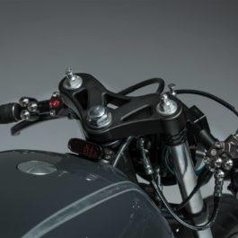 Custom triple clamp CX500 Cafe Racer honda