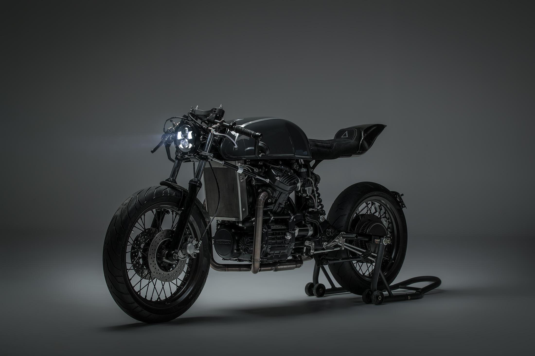honda C500 cafe racer custom build