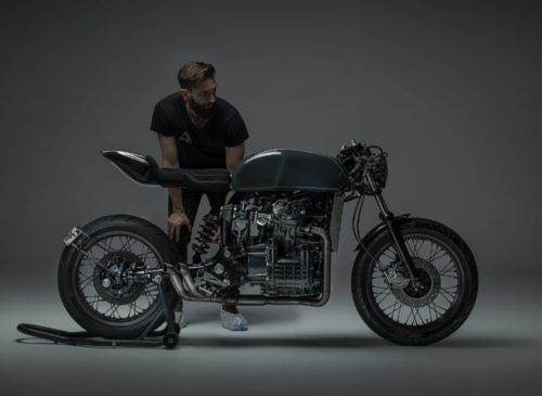 Cafe Racer Honda CX500 custom build Australia