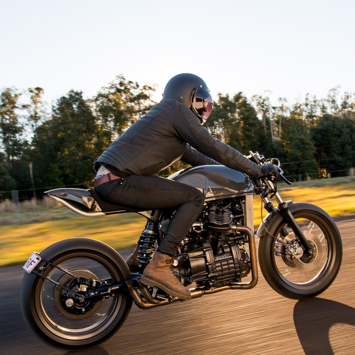 Cafe Racer CX500 honda performance custom build