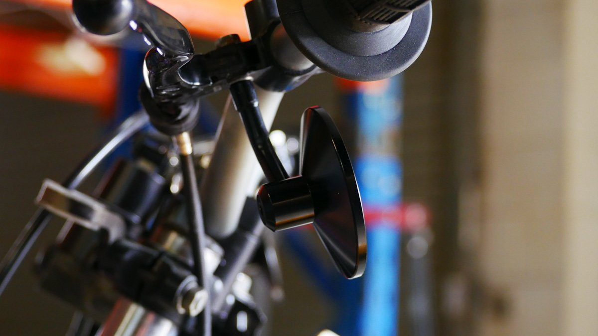 How to make scrambler mirrors motorcycle parts
