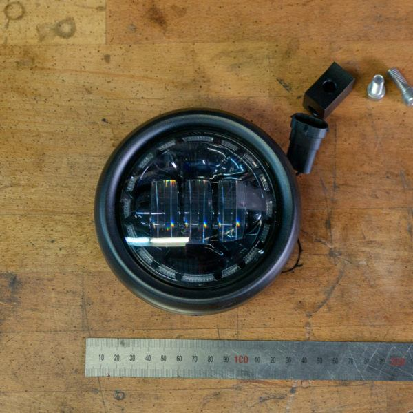 4.5 inch headlight LED cafe racer