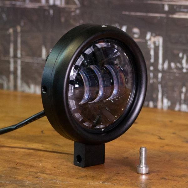 "Scrambler LED headlight 4.5"" inch"