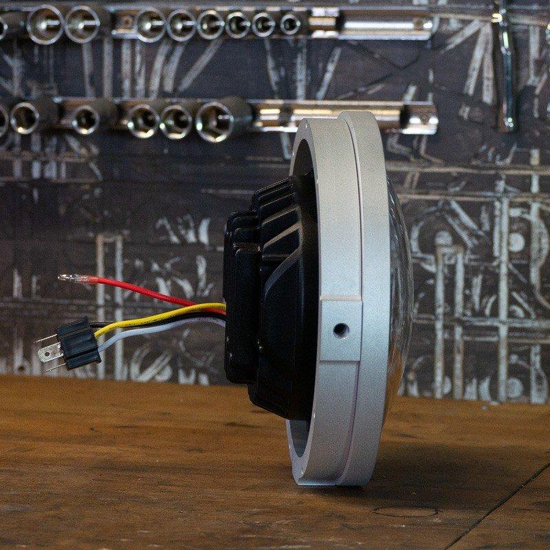 Custom LED motorbike headlight