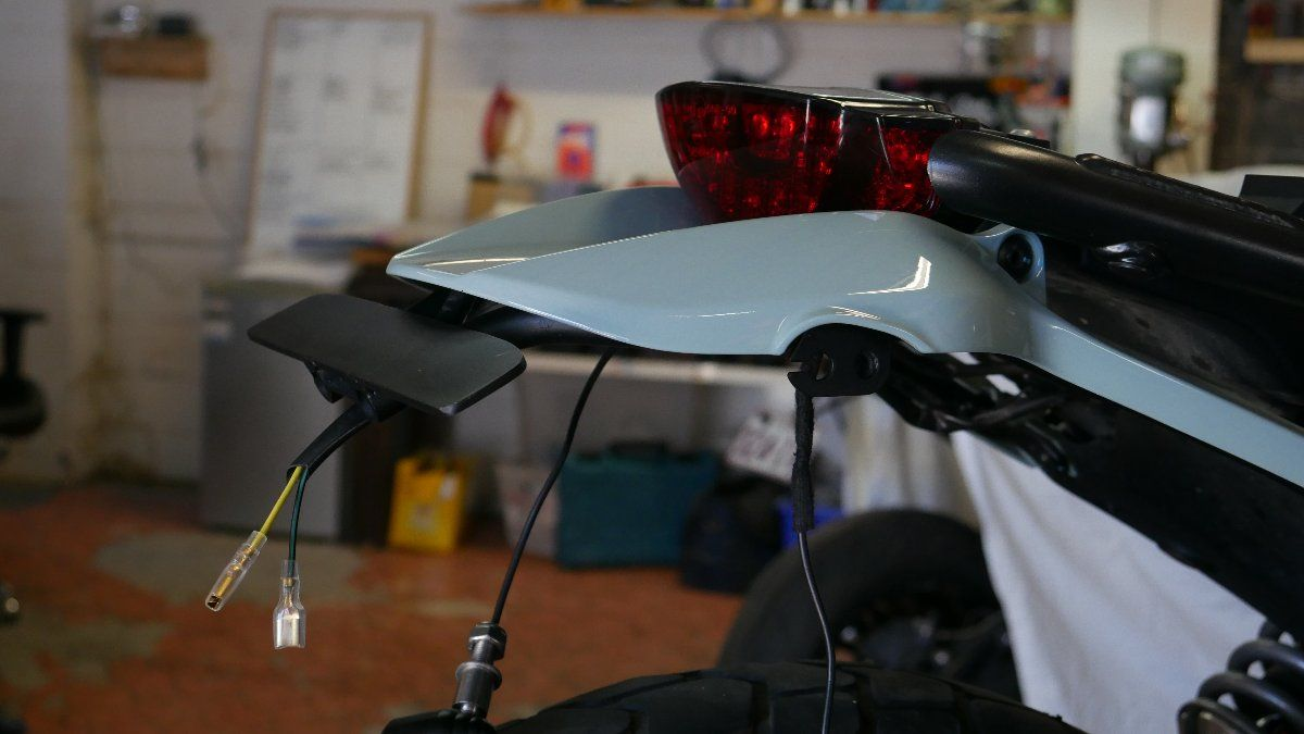 Ducati SCrambler Custom Tail tidy