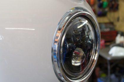Thruxton cafe racer LED headlight