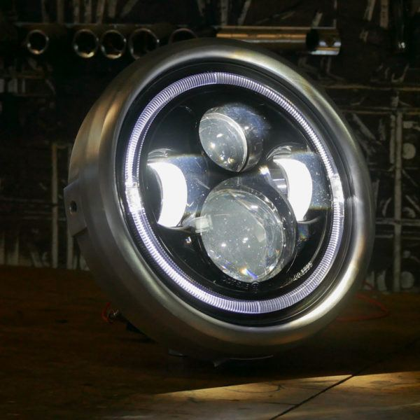 LED motorcycle headlight Triumph