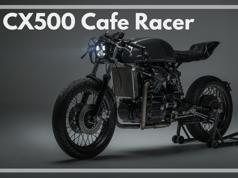 Honda CX500 Cafe Racer Build