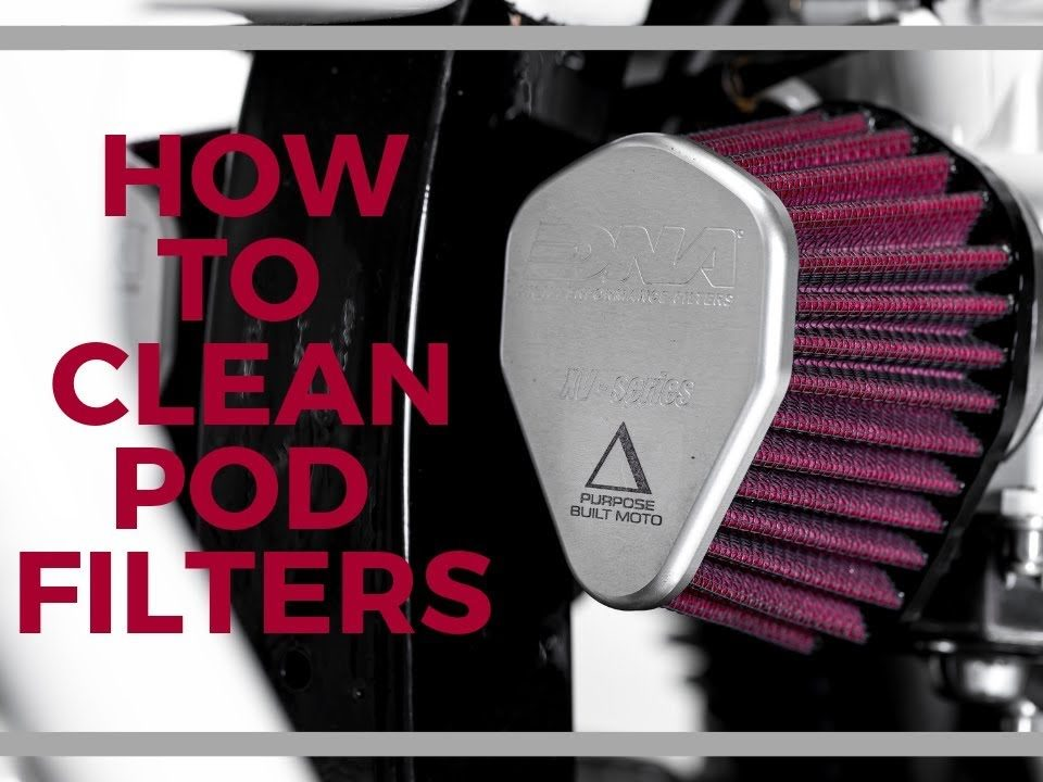 guide on cleaning your motorcycle filters