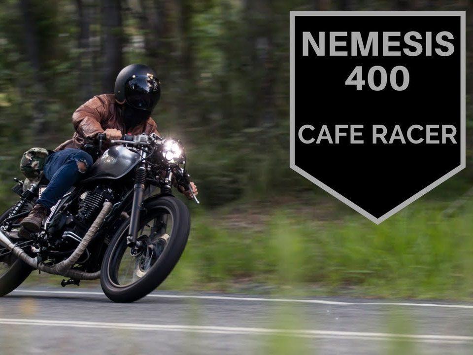 sol invictus nemesis 500 cafe racer build