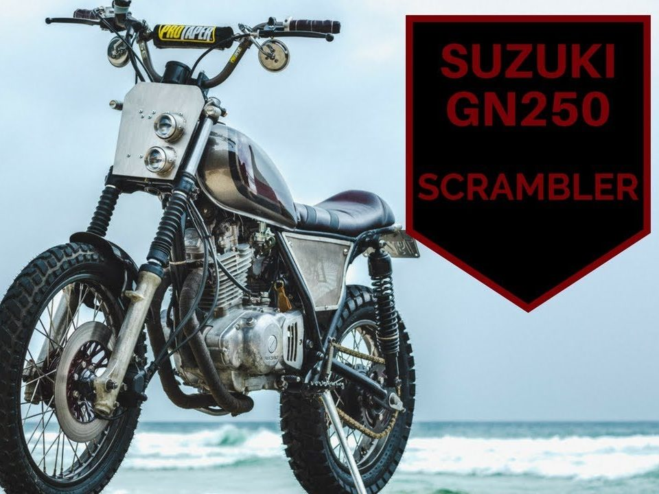 Suzuki GN250 Scrambler Build