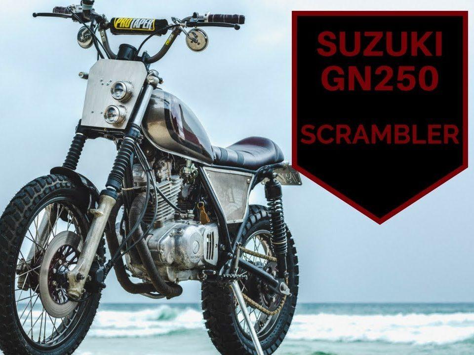 video overview of the suzuki scrambler build