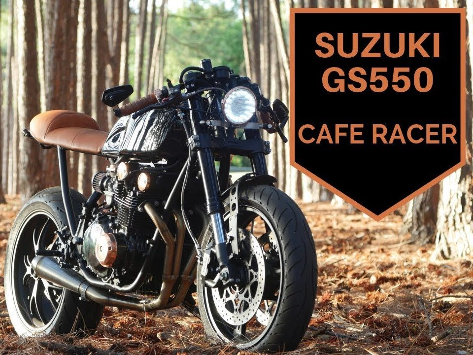 Suzuki GS550 Cafe Racer Build