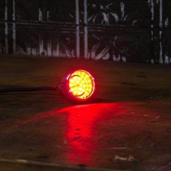 Custom brake light LED kit polished chrome