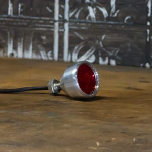 Polished LED brake light chrome Mini