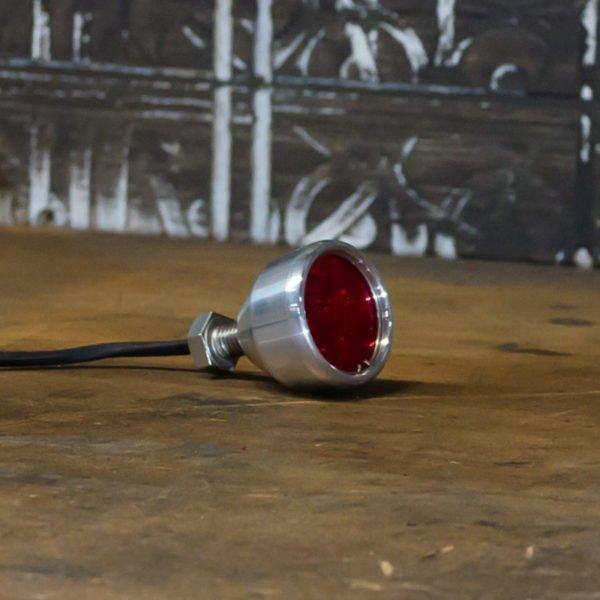 Polished LED brake light chrome Mini