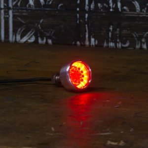 Chrome Brake light LED motorbike chopper