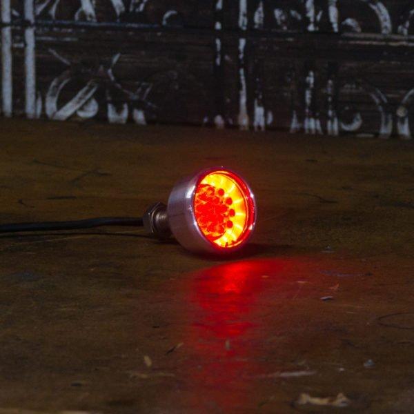 Chrome Brake light LED motorbike chopper