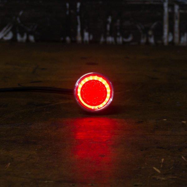 Chopper tail light cafe racer LED brake