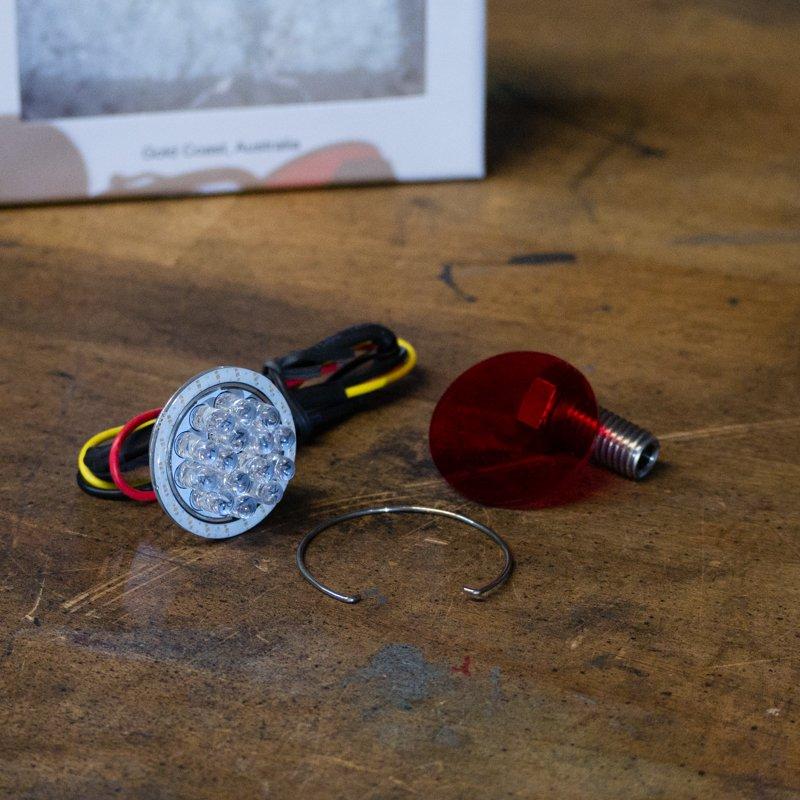 Orbit Mini Led Motorcycle Diy Brake Light Kit Purpose
