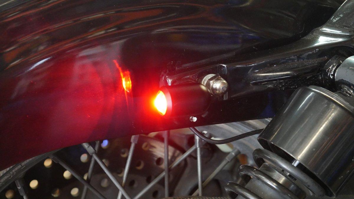 3 in 1 LED install light sportster