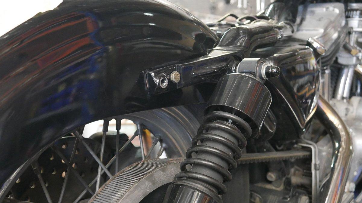 LED turn signal install harley sportster
