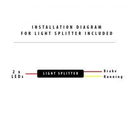 Installation Diagram for Tail Splitter