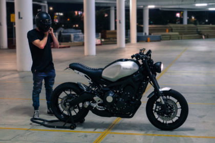 Cafe Racer XSR900 Custom XSR700