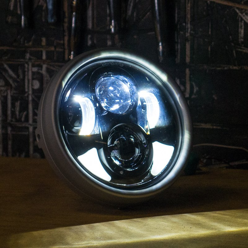 Flashpoint High Intensity Led Motorcycle Headlight