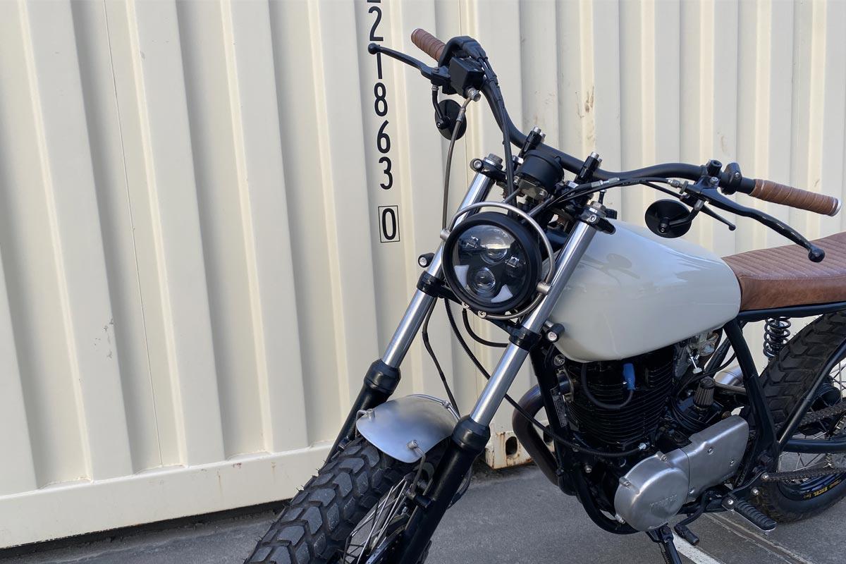 5.75 motorcycle headlight classic