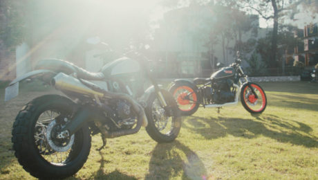 motorcycle documentary Handcrafted Deus ex machina jeremy tagand