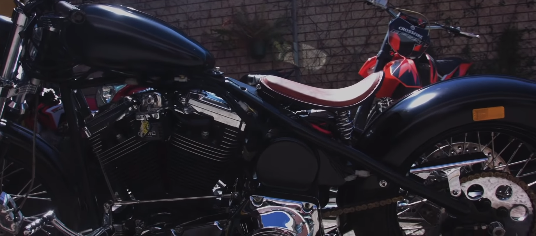 DVMC motorbikes sydney Handcrafted bike movie