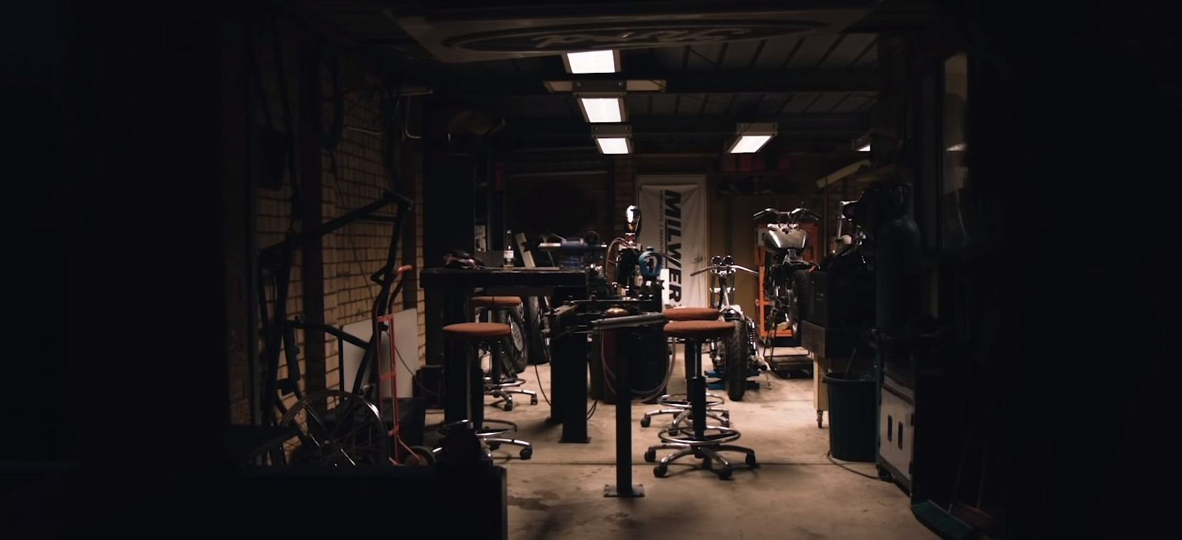 Brad miller motorcycle film documentary
