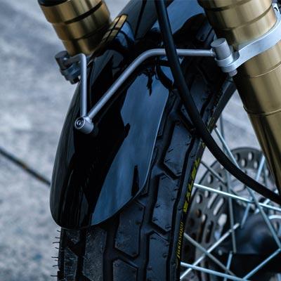 Scrambler Motorcycle Fender