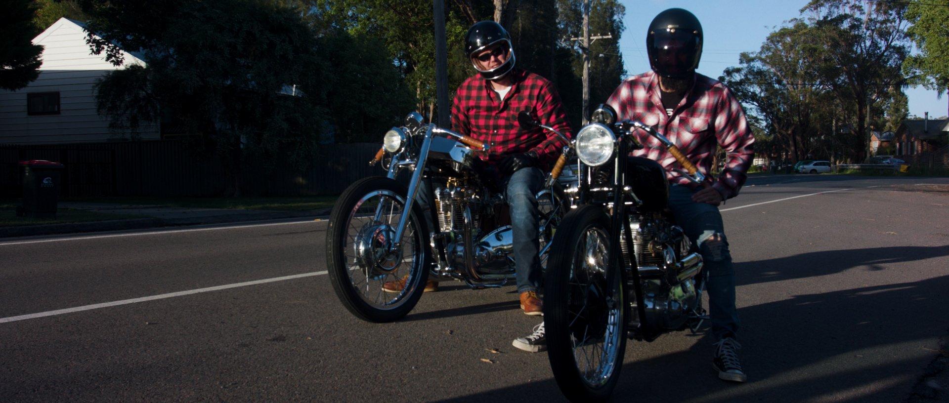 Chopper film custom motorcycle documentary