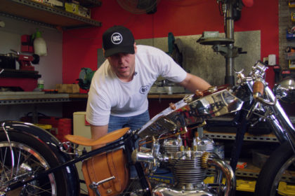 black cat customs motorcycle documentary film
