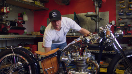 black cat customs motorcycle documentary film
