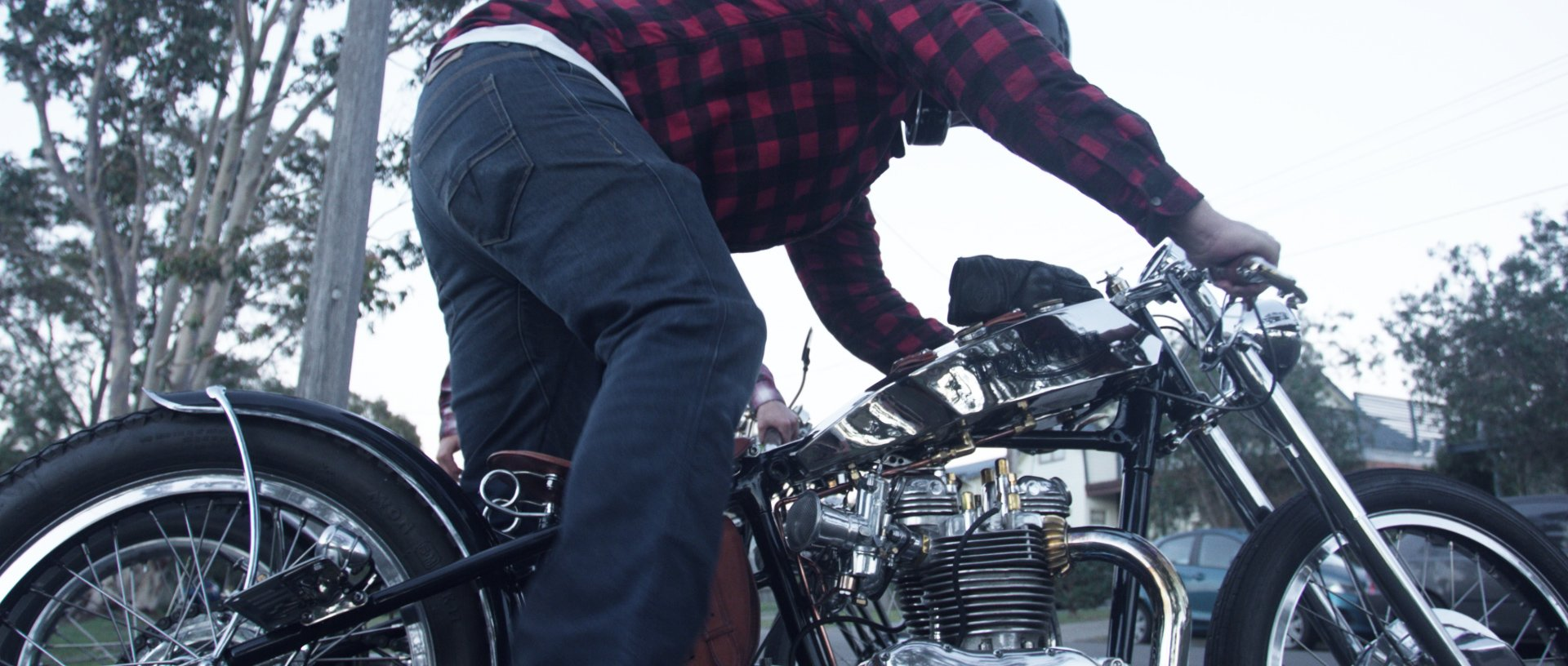 Custom motorcycle documentary handcrafted