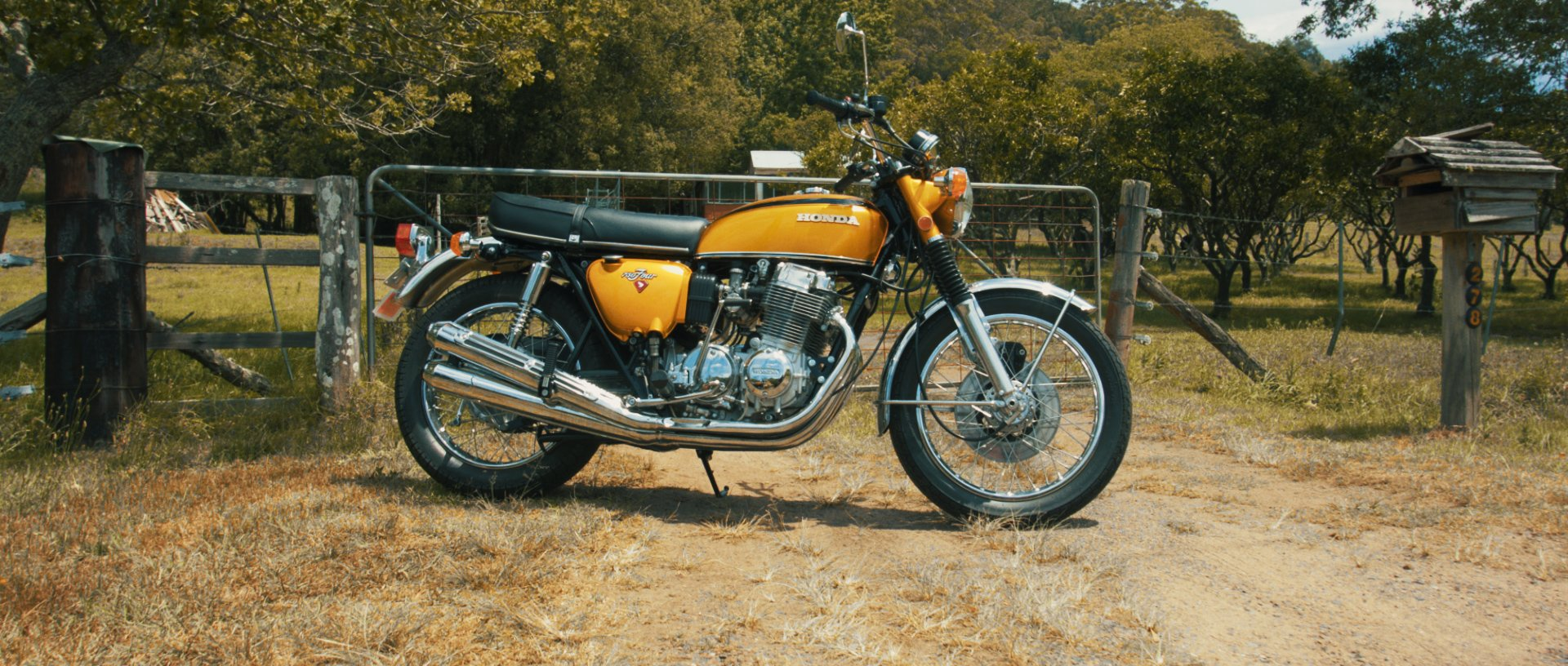 Honda CB750 motorcycle documentary