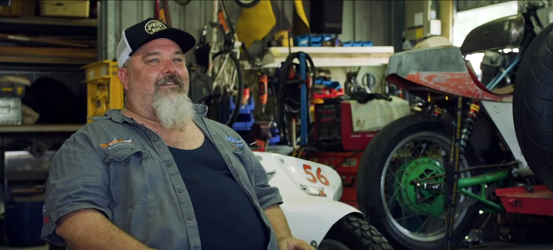 SDG moto custom motorcycle doco